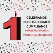 Estamos de cumpleaños!!! El sábado 19 de septiembre cumplimos un año en Durango. Encantados de estar allí ☺️☺️ Un aniversario 🎈 que compartimos con todos nuestros clientes que se acerquen a la zapatería de Durango esta semana.#oinberridurango #aniversariooinberri #regalos #otoñooinberri #zapatoscomodos #botas #nuevacoleccion #botines #zapatillas #modamujer #moda