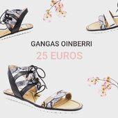 Es tiempo de sandalias !!👡 Es tiempo de aprovecharse de nuestras gangas. Calzado desde 25 euros como estas sandalias. Visita nuestra tienda online y recuerda que los envíos 🚚 y las devoluciones son gratis. #oinberrizapateria #oinberrigangas #oinberribilbao #oinberridurango #oinberribarakaldo #oinberrieibar #descuentos #marcas #pequeñocomercio #oinberriilusion #sandalias #sandaliasplanas #calzadomujer #verano2020